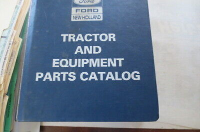 Ford Tractor Equipment Parts Catalog Fto-17330 Good Condition51105610 5900 6610