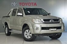 2009 Toyota Hilux KUN26R MY09 SR5 Silver Metallic 4 Speed Automatic Utility Glebe Inner Sydney Preview
