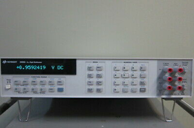 Keysightagilenthp 3458a 8 Digit Digital Multimeter Keysight Label