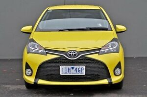 2016 Toyota Yaris Yellow Automatic Hatchback Cranbourne Casey Area Preview