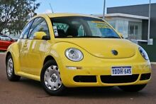2010 Volkswagen Beetle 9C MY2010 Miami Yellow 6 Speed Sports Automatic Coupe East Rockingham Rockingham Area Preview