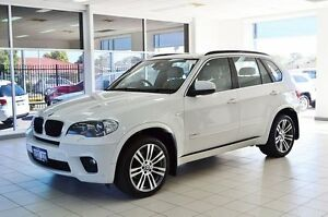 2010 BMW X5 E70 MY10 xDrive 30D White 8 Speed Sequential Auto Wagon Morley Bayswater Area Preview
