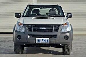 2011 Isuzu D-MAX MY11 SX White 4 Speed Automatic Utility Seaford Frankston Area Preview