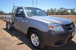 2011 Mazda BT-50 DX Grey 5 Speed Manual Cab Chassis Vincent Townsville City Preview