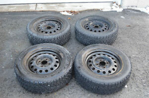 Winter Tires 205/60R15 4X Tires and Rims