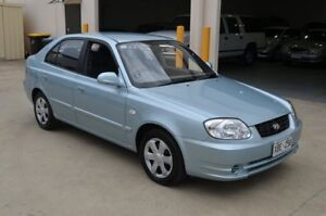 2004 Hyundai Accent LS 1.6 Green 4 Speed Automatic Hatchback Brompton Charles Sturt Area Preview