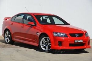 2010 Holden Commodore VE MY10 SV6 Red 6 Speed Manual Sedan Blacktown Blacktown Area Preview