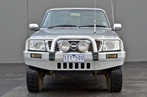 2008 Nissan Patrol GU 6 MY08 ST-L Silver 5 Speed Sports Automatic Wagon Cranbourne Casey Area Preview