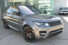 2015 Land Rover Range Rover Sport L494 SDV6 HSE Dynamic Corris Grey 8 Speed Automatic Wagon Garbutt Townsville City Preview