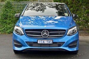2016 Mercedes-Benz B180 Blue Sports Automatic Dual Clutch Hatchback Doncaster Manningham Area Preview