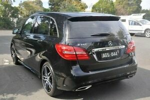 2015 Mercedes-Benz B250 Black Sports Automatic Dual Clutch Hatchback Doncaster Manningham Area Preview