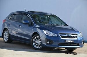 2012 Subaru Impreza G4 MY12 2.0i Lineartronic AWD Blue 6 Speed Constant Variable Hatchback Blacktown Blacktown Area Preview