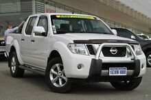 2014 Nissan Navara D40 S6 MY12 ST White 6 Speed Manual Utility Cannington Canning Area Preview