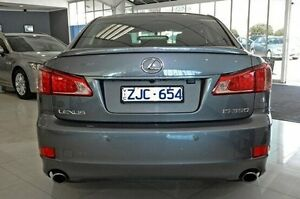 2012 Lexus IS350 GSE21R X Grey 6 Speed Sports Automatic Sedan Dandenong Greater Dandenong Preview