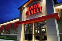 Swiss Chalet Bradford, P/T and F/T Positions open