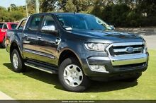 2015 Ford Ranger PX MkII XLT Double Cab Metropolitan Grey 6 Speed Manual Utility Osborne Park Stirling Area Preview