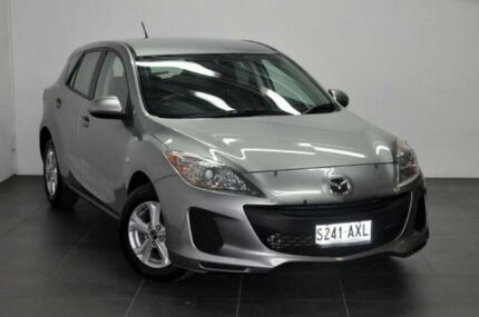 2013 Mazda 3 BL10F2 MY13 Neo Activematic Silver 5 Speed Sports Automatic Hatchback Reynella Morphett Vale Area Preview