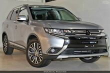 2015 Mitsubishi Outlander ZK MY16 LS 2WD Cool Silver 6 Speed Constant Variable Wagon Wilson Canning Area Preview