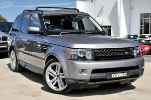 2012 Land Rover Range Rover Sport L320 13MY SDV6 CommandShift Grey 6 Speed Sports Automatic Wagon Kings Park Blacktown Area Preview