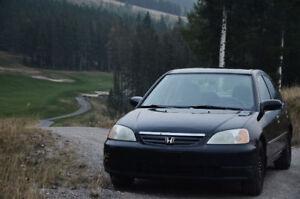 2002 Honda Civic LX-G SE Sedan PRICE REDUCED