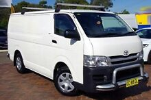 2008 Toyota Hiace KDH201R MY08 LWB White 4 Speed Automatic Van Baulkham Hills The Hills District Preview