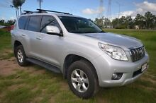 2012 Toyota Landcruiser Prado KDJ150R Altitude Silver 5 Speed Sports Automatic Wagon Vincent Townsville City Preview