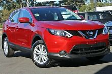 2015 Nissan Qashqai J11 ST Magnetic Red 1 Speed Constant Variable Wagon Wangara Wanneroo Area Preview