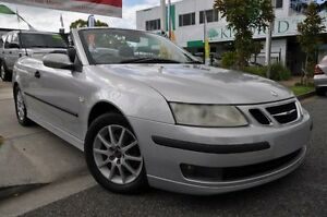 2003 Saab 9-3 442 Linear Silver 5 Speed Sports Automatic Convertible Margate Redcliffe Area Preview