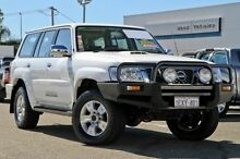 2008 Nissan Patrol GU 6 MY08 ST White 5 Speed Manual Wagon Myaree Melville Area Preview