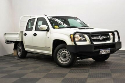 2010 Holden Colorado RC MY10 LX Crew Cab White 5 Speed Manual Utility