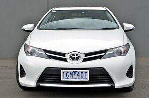 2013 Toyota Corolla ZRE182R Ascent S-CVT White 7 Speed Constant Variable Hatchback Cranbourne Casey Area Preview
