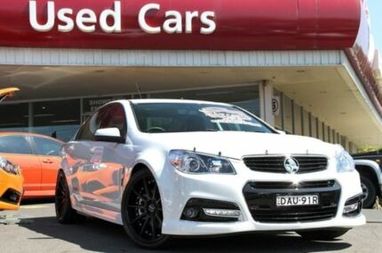 2014 Holden Commodore VF MY15 SS V White 6 Speed Auto Seq Sportshift Sedan Liverpool Liverpool Area Preview