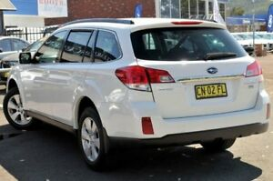 2010 Subaru Outback B5A MY10 2.0D AWD White 6 Speed Manual Wagon