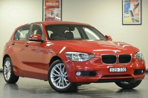 2014 BMW 118i F20 MY0713 Steptronic Crimson Red Semi Auto Hatchback Chatswood Willoughby Area Preview