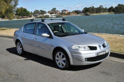 2007 Renault Megane X84 MY06 Upgrade Expression Silver 4 Speed Automatic Sedan