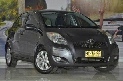 2009 Toyota Yaris NCP90R MY09 Edge Gre 4 Speed Automatic Hatchback Liverpool Liverpool Area Preview