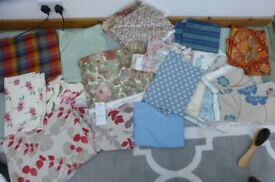Bundle fabric remnants