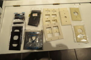 Various switch and plug plates