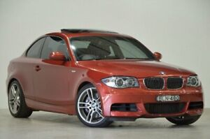2009 BMW 1 Series E82 MY09 135i Sport Red 6 Speed Manual Coupe