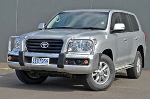 2012 Toyota Landcruiser VDJ200R MY12 GXL Silver 6 Speed Sports Automatic Wagon Cranbourne Casey Area Preview