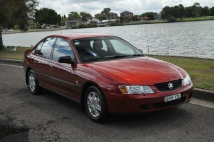 2004 Holden Commodore VY II Executive Maroon 4 Speed Automatic Sedan