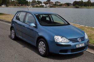 2005 Volkswagen Golf 1K 1.6 Trendline Blue 5 Speed Manual Hatchback Croydon Burwood Area Preview