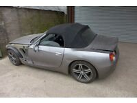 BMW Z4 E85 2.5I PETROL MANUAL CONVERTIBLE BREAKING SPARE PARTS
