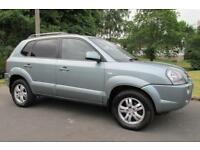 2006 (56) Hyundai Tucson 2.0CRTD ( 4WD ) Limited **CREDIT/DEBIT CARDS ACCEPTED**