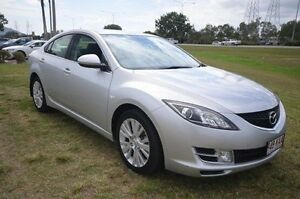 2008 Mazda 6 GH1051 Classic Silver 5 Speed Sports Automatic Sedan Vincent Townsville City Preview