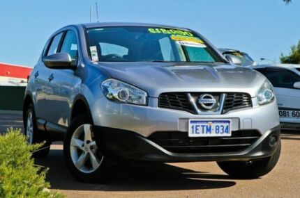 2013 Nissan Dualis J10W Series 3 MY12 ST Hatch X-tronic 2WD Silver 6 Speed Constant Variable Hatchba East Rockingham Rockingham Area Preview
