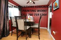 PAINTERS, PAINTING SAME DAY FREE ESTIMATE 780 719 5264 CALL NOW!
