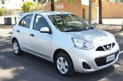 2015 Nissan Micra K13 Series 4 MY15 ST Silver 5 Speed Manual Hatchback Brompton Charles Sturt Area Preview