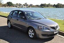2008 Mazda 3 BK MY06 Upgrade Neo Grey 4 Speed Auto Activematic Hatchback Croydon Burwood Area Preview