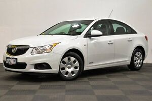 2011 Holden Cruze JH Series II MY11 CD White 6 Speed Sports Automatic Sedan Thornlie Gosnells Area Preview